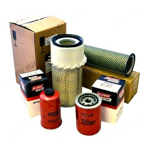 Kit de servicio de filtro se ajusta International 484 584 684 784 tractores.