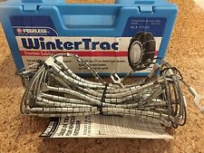 Peerless WinterTrac Traction Cables Tire Snow Chains, Stock #0172155 Never Used