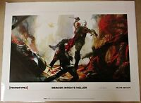 Prototype 2 mercer Infects Heller Concept Art Lithograph Print ?/300 Free Ship