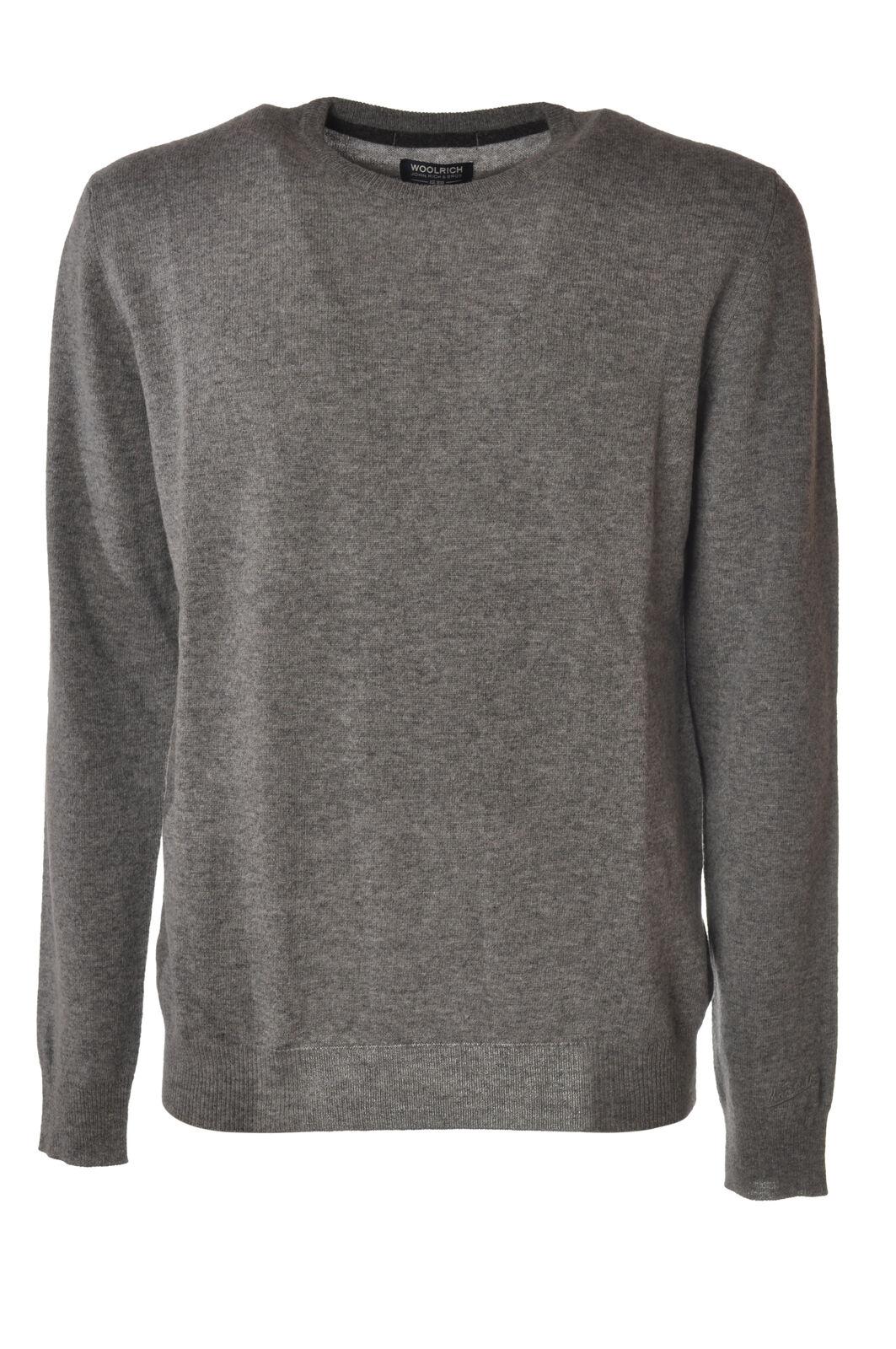 Woolrich - Knitwear-Sweaters - Man - Grau - 5758419L183730