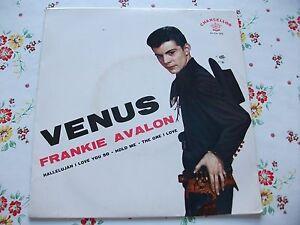 FRANKIE AVALON VENUS+3 EP STAMPA ITALIANA 1959 - Italia - FRANKIE AVALON VENUS+3 EP STAMPA ITALIANA 1959 - Italia
