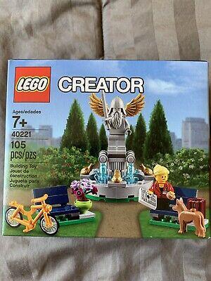 LEGO Creator Fountain Promo Set 40221 Damaged Box