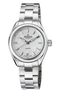 Alpina Comtesse Quartz Mother Of Pearl Dial Ladies Watches AL-240MPW2C6B