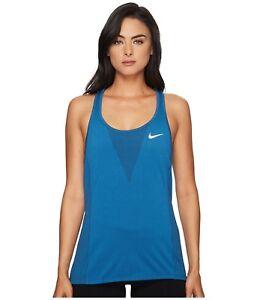 Nike-Donna-Dri-Fit-Zonale-Raffreddamento-Corsa-Tennis-Canottiera-Salva-40-XS-S