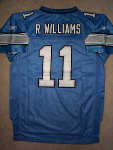 Details about STITCHED/SEWN Detroit Lions ROY WILLIAMS nfl THROWBACK Jersey YOUTH KIDS BOYS lg