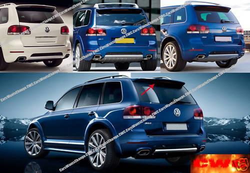 NEW !! NEW !!! ROOF SPOILER !! VW TOUAREG MK I 2002-2006