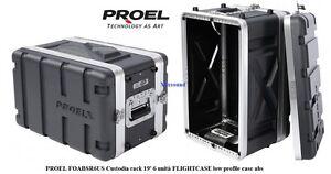 PROEL-FOABSR6US-Custodia-rack-19-039-6-unita-FLIGHTCASE-low-profile-case-abs