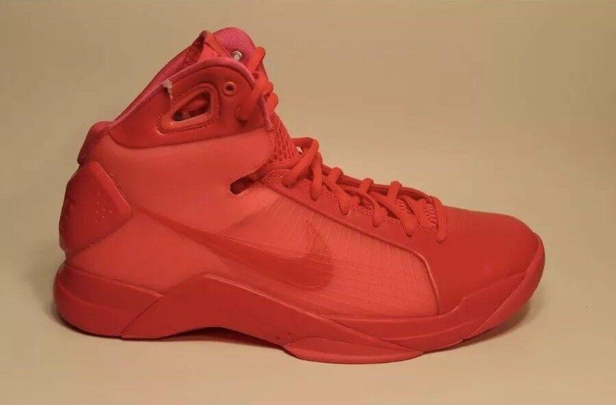 Nike Hyperdunk Retro Men's Basketball shoes 820321-600 Solar Red NEW SIZE 11.5