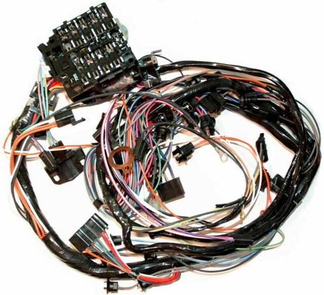 76 corvette dash wiring harness all with manual transmission for sale  online | ebay  ebay