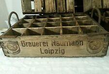antike alte Kiste Bierkiste Holz alter Bierkasten Weinkiste Leipzig Setzkaste