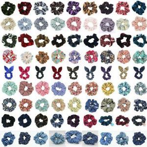 Women-039-s-Hair-Scrunchies-Elastic-Scrunchy-Pnytail-Holder-Hair-Rope-Hair-Ring-Tie