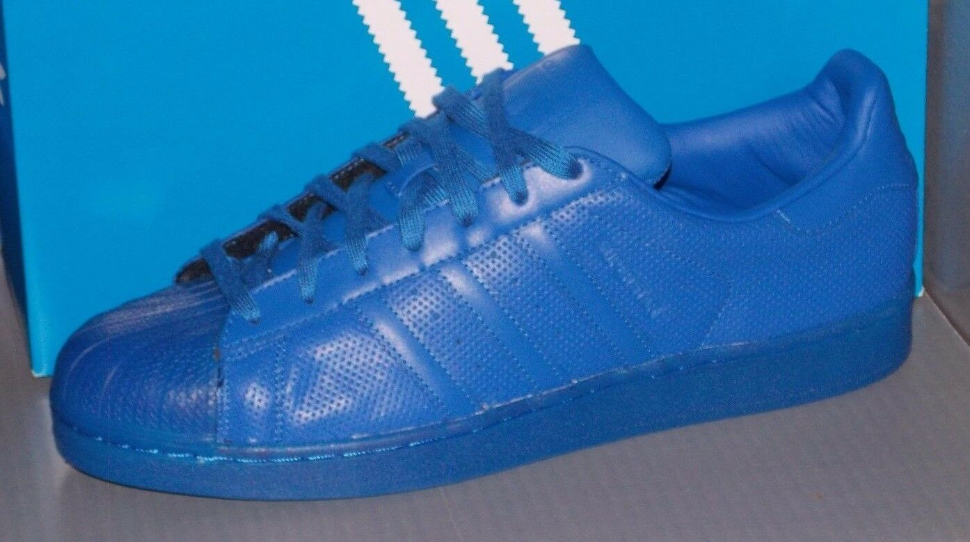 MENS ADIDAS SUPERSTAR ADICOLOR in colors blueE   blueE blueE blueE   blueE SIZE 11.5 eb8c40