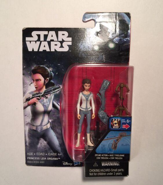 Disney Hasbro Star Wars Rebels Princess Leia Organa Action figure with Zip line