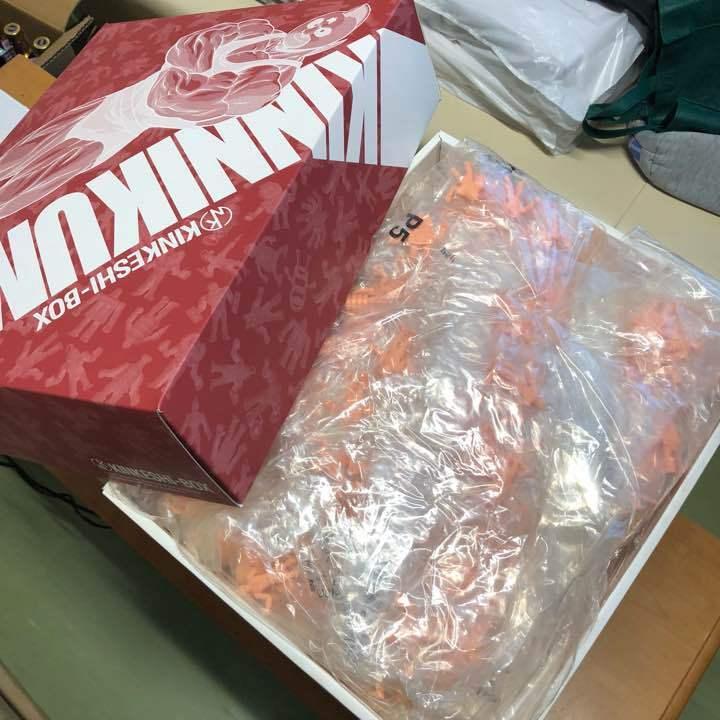Kinnikuman Kinkeshi box 418 pcs figures only sealed only eraser Free shipping