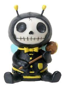 NEW Furrybones Furry Bones Buzz Skull Skeleton bumble Bee Figurine Gift 8411