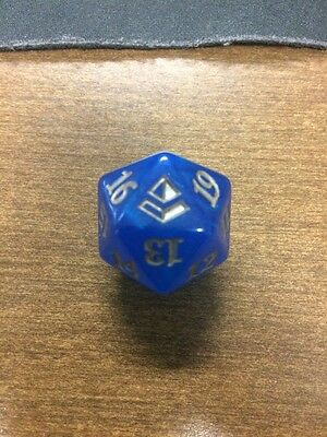 Blue Amonkhet Spindown Dice D20 MTG Dice D20 Life counter Magic The Gathering