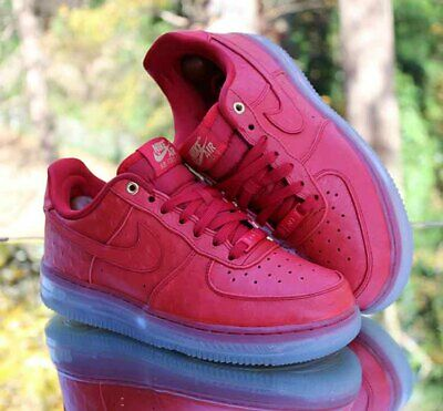 Nike Air Force 1 07 LV8 1 Air Force 1 low help Recreation Board shoes Internet shoes Men's shoes Women's shoes White Red