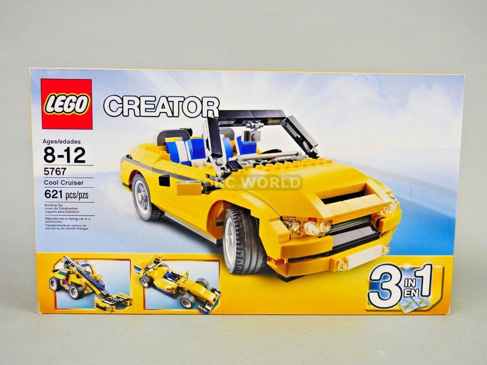 LEGO creador Cool Cruiser coche 5767 (621 piezas)  rk1t