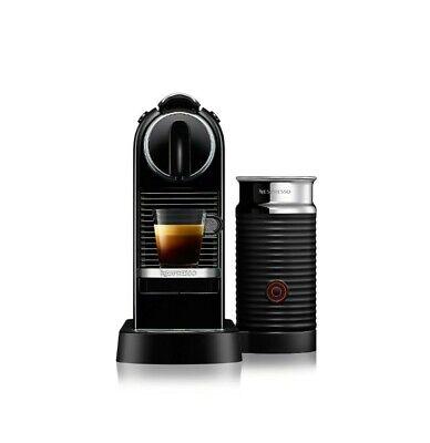 NIB Nespresso Expresso Machine & Milk Frother original ...