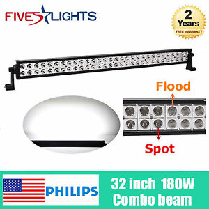 NEW-32inch-180W-S-F-Combo-LED-Light-Bar-Vehicle-Roof-Ford-SUV-RZR-Tractor-24-46