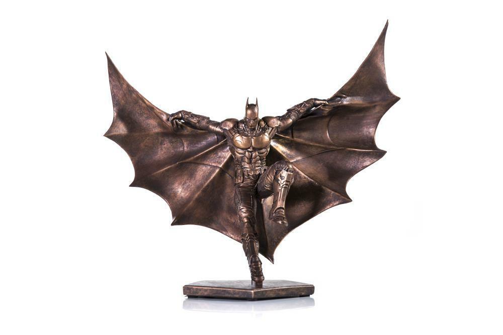 Iron Studios Batman Arkham Knight Art Scale 1/10 Statue Exclusive Bronze Edition on eBay thumbnail