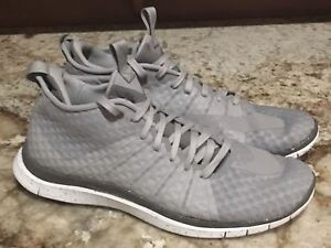 Details about NIKE FC Free Hypervenom 2 Wolf Grey White Training Running Shoes NEW Mens 12.5