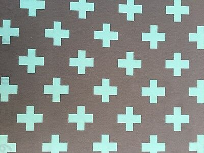 Decorazione Mobili Patchwork Sostanze Cotone Sipario Tenda Crociati 1102/167-