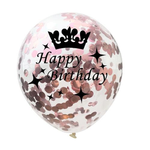 Rose Gold Serie Folie Latex Ballon Helium Star Geburtstag Party Hochzeit Dekor
