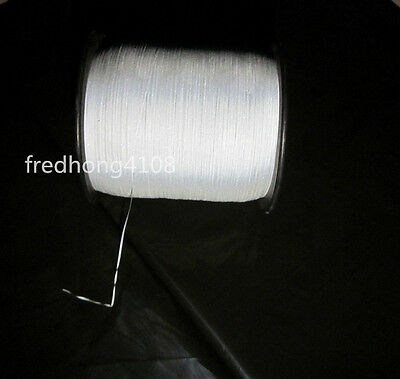 1mmx2000m Double Sided Reflective Yarn Thread For Weaving Hat  Ribbon Rope Belt
