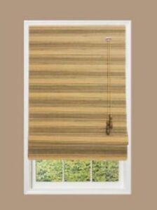 Home-Decorators-Collection-NATURAL-ROMAN-MOSS-MULTI-WEAVE-BAMBOO-SHADE-34-034-x-72-034