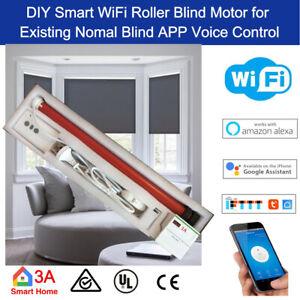 Details about Smart WiFi Roller Blind Motor Normal Blind Google Home Alexa  Home Automation DIY