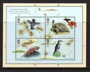 2009 GB CHARLES DARWIN Miniature Sheet MS2904 MNH Mini Galapagos Islands Iguana