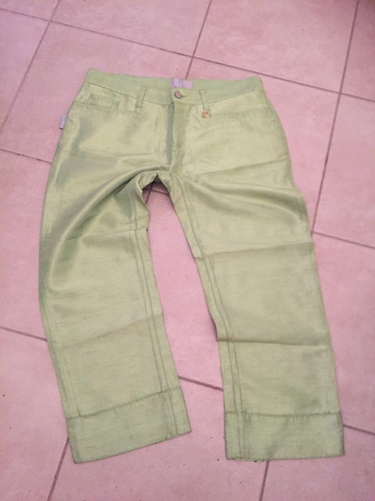 Pantacourt verde Missoni Jeans Dimensione 30