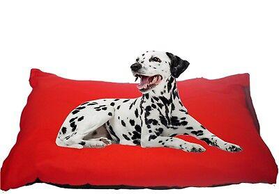 KosiPet® Large Deluxe Waterproof Rhomboid Memory Foam Pad  Dog Bed RED PLAID