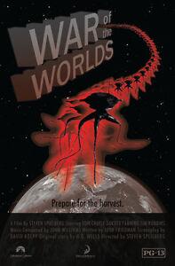 Guerra-de-los-mundos-A4-brillo-cartel-impresion-laminado-de-11-7-034-X-7-7-034