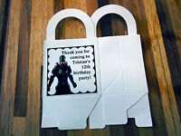 12 Halo Loot Boxes/bags Birthday Party Favor Treat, Customize It Xbox 360 One