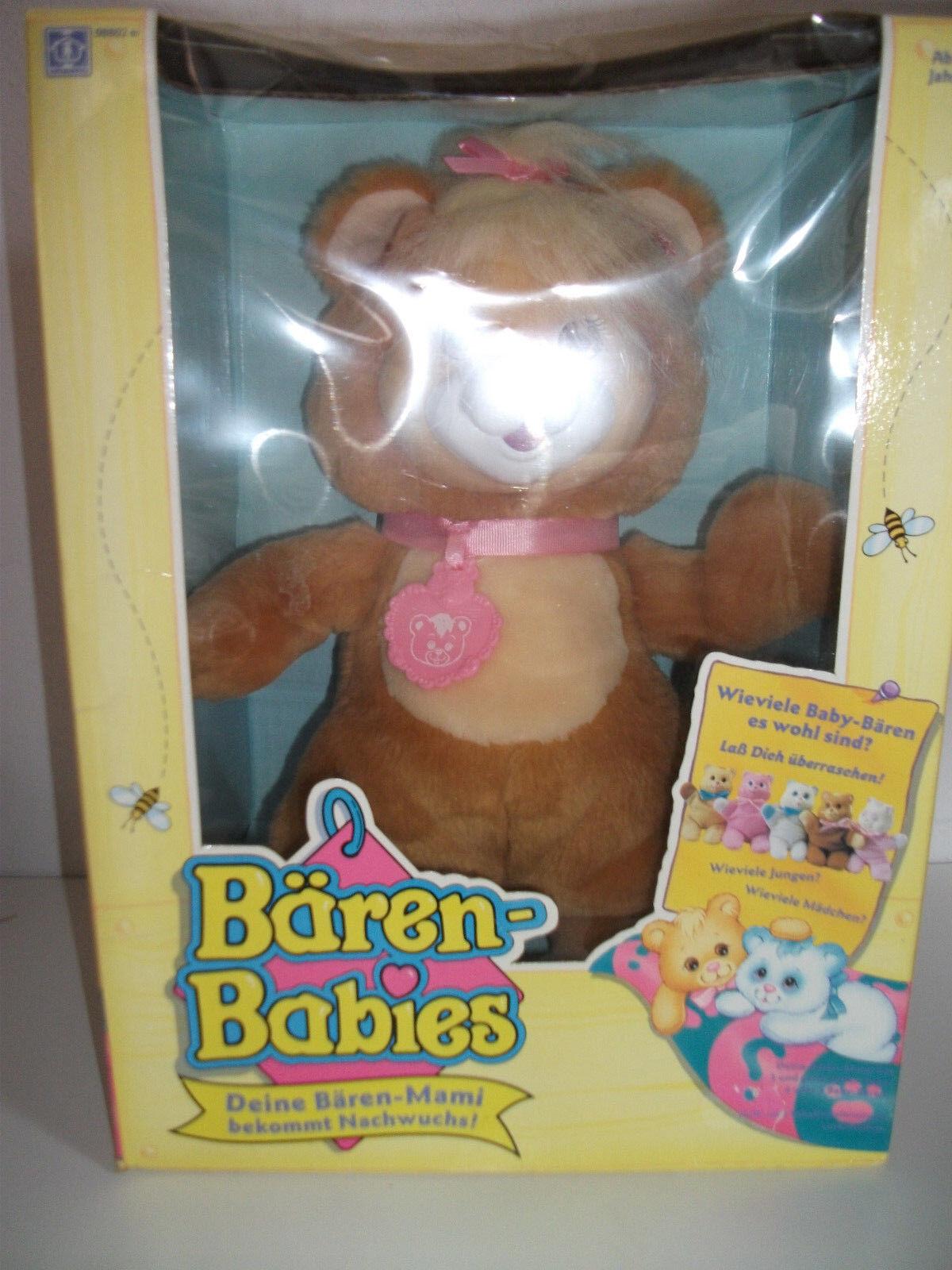Orig.Bären Babies -Bären Mami (32cm) bekommt 5 X X X Nachwuchs  -OVP 54cdc5