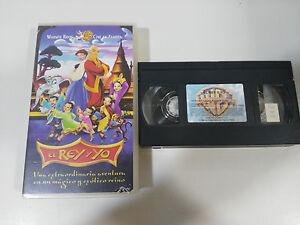 EL-REY-Y-YO-VHS-FILM-BANDE-COLLECTOR-ESPAGNE-WARNER-ANIMATION