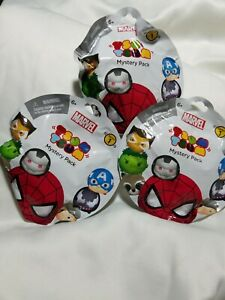 Marvel-Tsum-Tsum-Blind-Pack-Collectible-Figures-Lot-of-3-Series-1