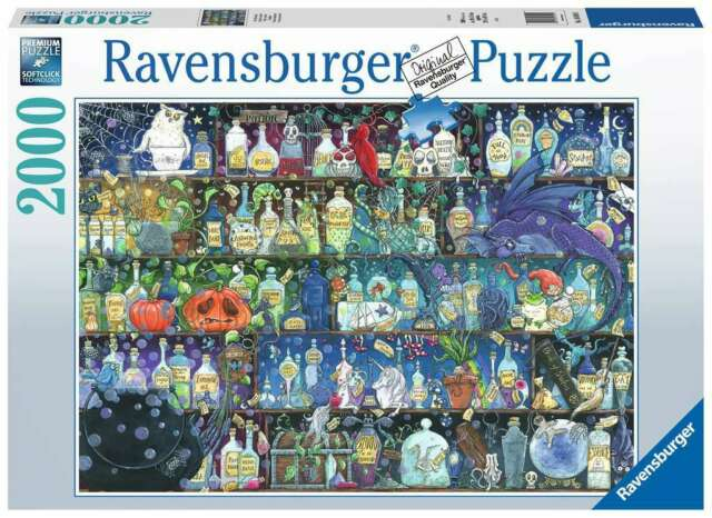 Ravensburger Puzzle - Poisons and Potions  - 2000 pc - 16010