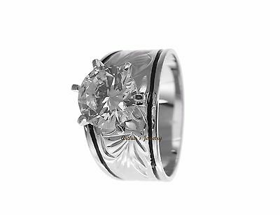 Solitaire Zircone Cubique Bague Hawaïen Plumeria Volutes Émail Noir Activating Blood Circulation And Strengthening Sinews And Bones Jewelry & Watches