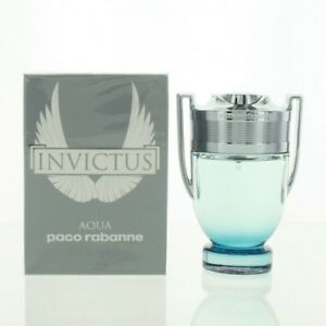 f4ca9984f PACO RABANNE INVICTUS AQUA 1.7 OZ EAU DE TOILETTE SPRAY NEW in Box ...
