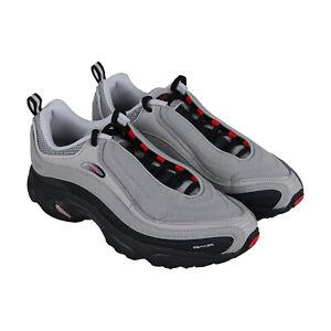 Reebok-Daytona-DMX-CN3808-Mens-Gray-Mesh-Casual-Lace-Up-Low-Top-Sneakers-Shoes