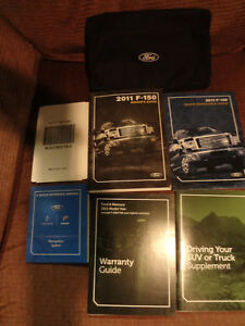 ford  owners manual set ebay