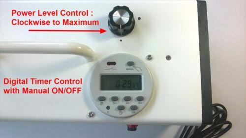 Ozone Generator Machine Air Purifier Odor Remover Deodorizer Sterilizer 7g//hr