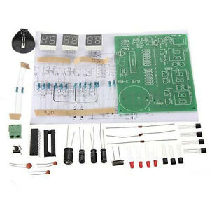 DIY-Kit-Module-9V-12V-AT89C2051-6-Digital-LED-Electronic-Clock-Parts-fashion-new
