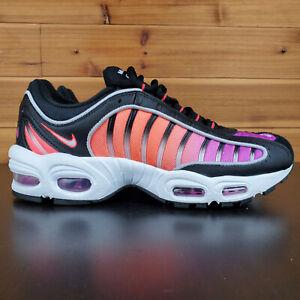 Nike-Air-Max-Tailwind-IV-Men-039-s-Shoes-Black-White-Bright-Crimson-AQ2567-002