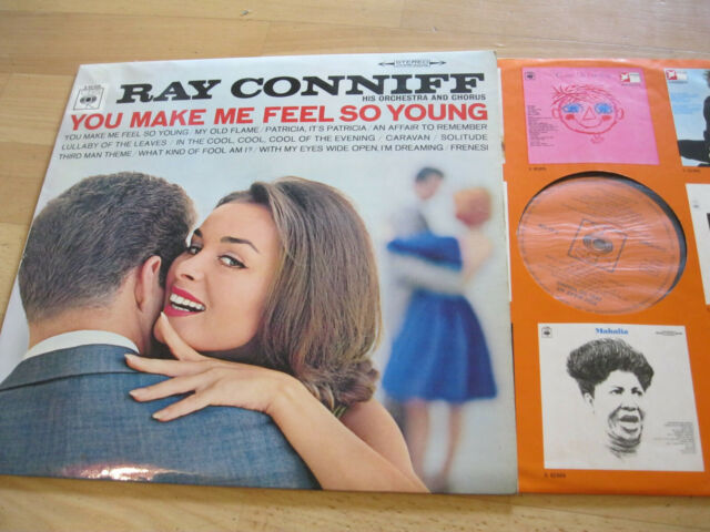 LP Ray Conniff You Make me Feel so Young Vinyl CBS S 62 228
