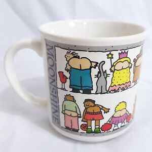 Moonshine-Mug-Cup-Recycled-Paper-Products-Vintage-Korea-Mooning-Max-10-oz