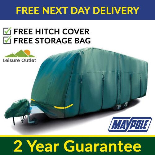 Maypole Caravan Cover Premium 4 Ply Waterproof Breathable 6.8m 6.2m